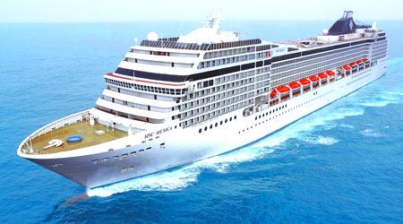 ספינת נופש היא כמו בית מלון - רק כזה שצף על המים